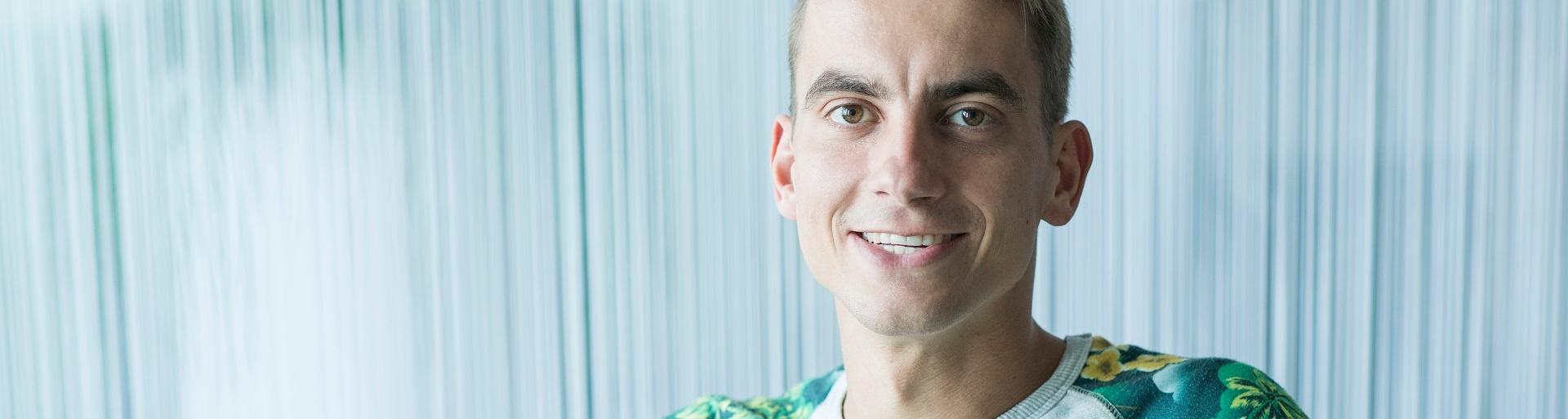 Support consultant Frank van Baren de kilometervreter